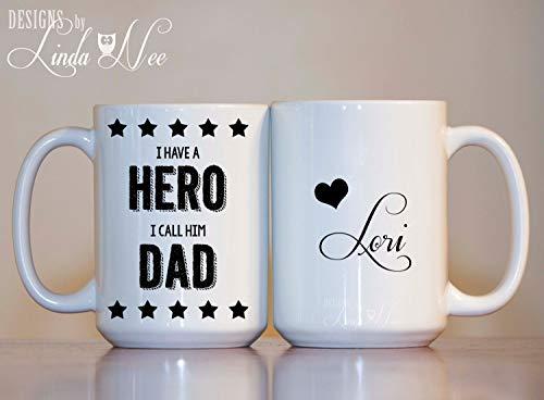 dia del padre taza personalizada marca CoffeeMug