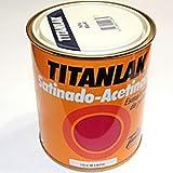 Titanlak - Esmalte poliuretano satinado 0,75 l marfil