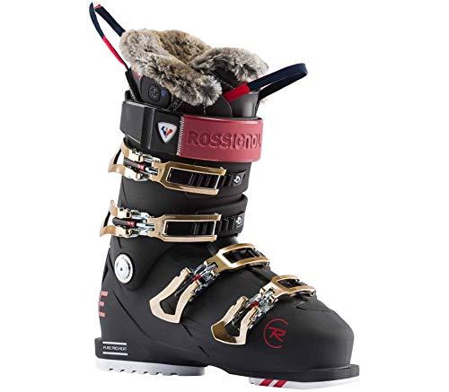 Rossignol Damen Pure Pro Heat Skischuhe, Nachtschwarz, 24.5