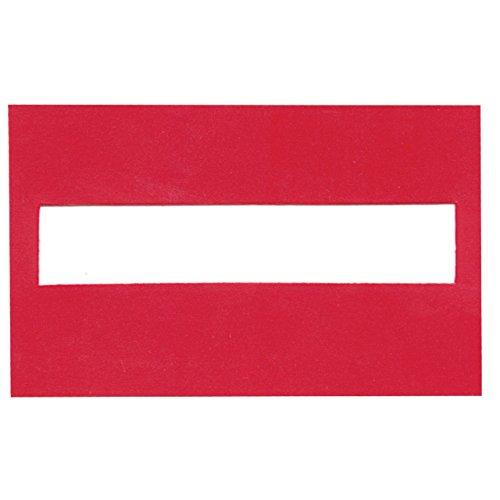 Signature Guide - Red Plastic