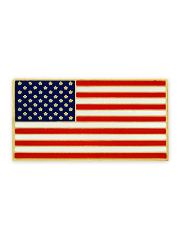 PinMart Magnetic American Flag Patriotic Suit Jacket Lapel Pin