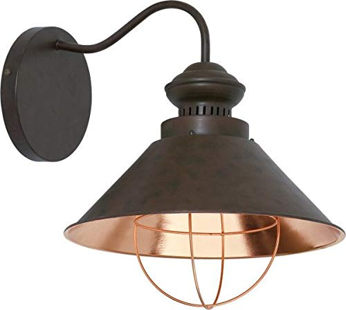 Ultramoderne Applique Murale Industriel Vintage Design/Luminaire interieur/Marron