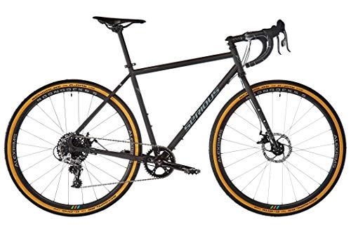 SERIOUS Voon 2020 - Bicicleta de cross para hombre, color negro, color Negro , tamaño 52 cm, tamaño de rueda 28.0