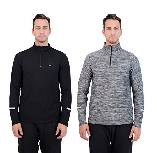 Unipro Mens 2-Pack Quarter Zip L...
