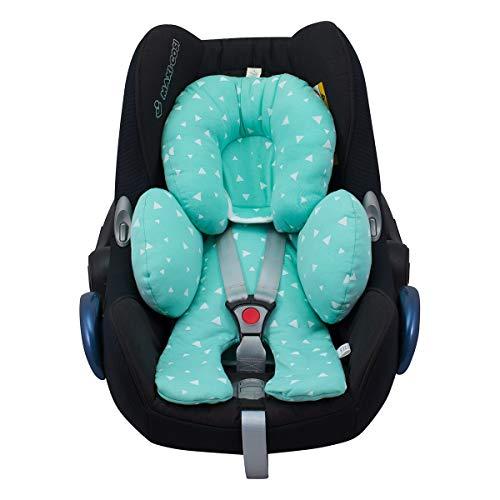 JANABEBE Auto-Sitzverkleinerer Antiallergikum (Mint Sparkles)