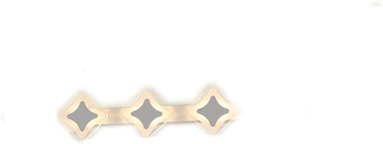 Lampe 360-Grad-Rotation führte wasserdicht Anti-Fog-Bad kreative ultra-dünnen Spiegelschrank spezielle Lichter (Farbe   Warmes Licht-12w 61cm)