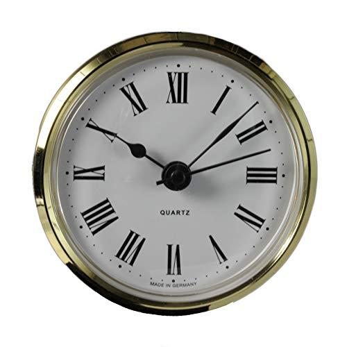 Cloxinelle Uhrwerk | Einsteckuhrwerk | Einbau-Uhr | Modellbau-Uhr | Quartz Uhrwerk | Ø 66 mm | Nr.8073