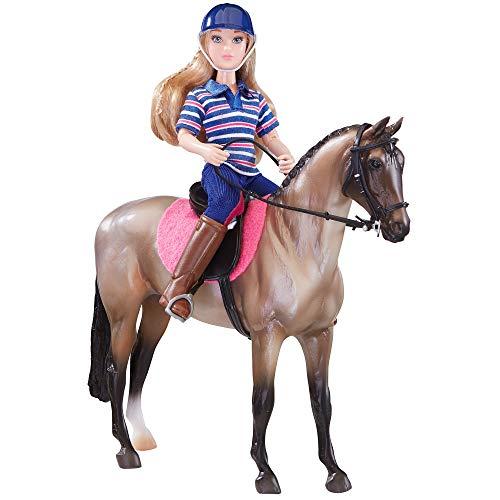 Breyer Freedom Series (Classics) English Horse & Rider Doll Set | (1:12 Scale) | Model #61114,Multicolor