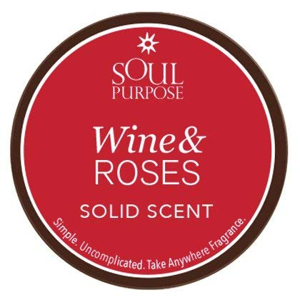 Solid Perfume - Wine & Roses - 1/2oz - 6 Pack