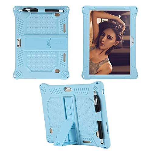 YGoal Funda para TECLAST M30, Dragon Touch K10, YOTOPT 10, BEISTA 10, LNMBBS 10, MEBERRY 10, Vankyo Matrix Pad Z4 10, Dragon Touch 10 and Dragon Touch Max10, Azul