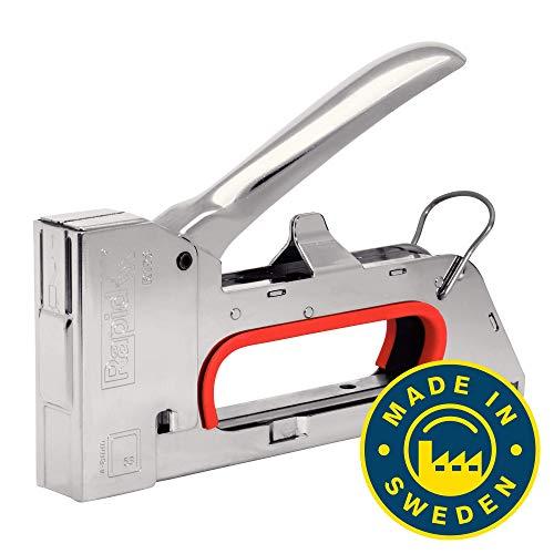 Rapid Handtacker R153, Tacker für Holz und Stoffe, Kompakt, Komplett aus Stahl, für Klammern Typ 53, 4-8mm