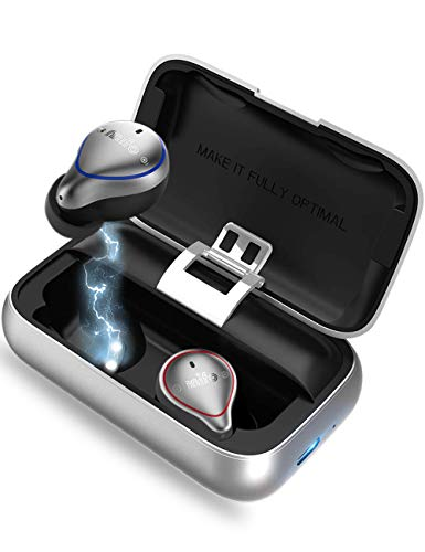 Bluetooth5.0左右分離型 完全ワイヤレスイヤホン mifo O5 ワイヤレスイヤホン 無線タイプ 自動ペアリング ...