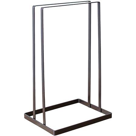 TOPBATHY Cintre empileur Support de Rangement vêtements Cintre Titulaire Hanger Holder Storage Rack Noir
