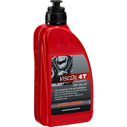 Racing Dynamic Motorrad-Motoröl 4-takt Motoröl Viscoil 4T SAE 10W-40 teilsynthetisch 1000 ml, Unisex, Multipurpose, Ganzjährig