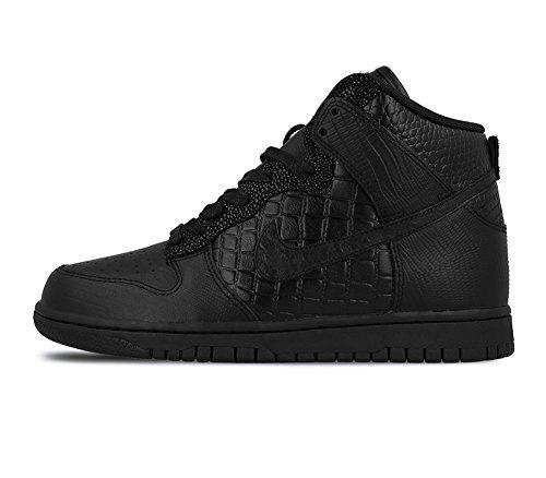 Nike W Dunk Hi Lx - Black/Black-Ivory, Größe:7.5