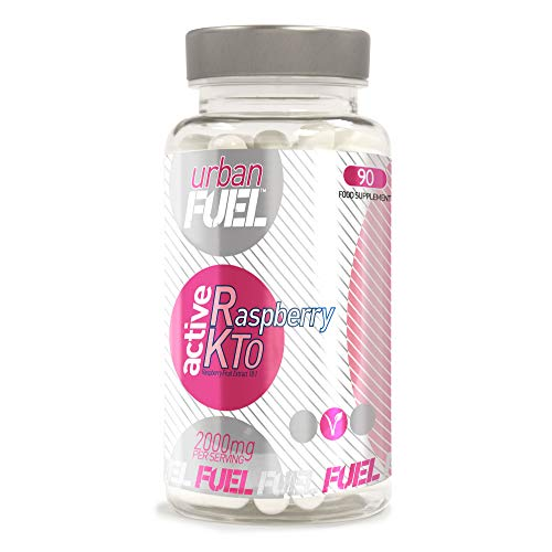 Raspberry Ketone by Urban Fuel 1000mg Weight Loss Food Supplement Support Pills - Stimulent Free - Pure Raspberry Fruit 10:1