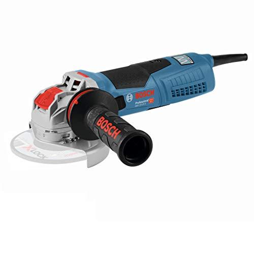 Bosch Professional Winkelschleifer GWX 19-125 S (1.900 Watt, für X-LOCK Zubehör, ScheibenØ: 125 mm, inkl. Anti-Vibrationshandgriff, Schutzhaube, im Karton)