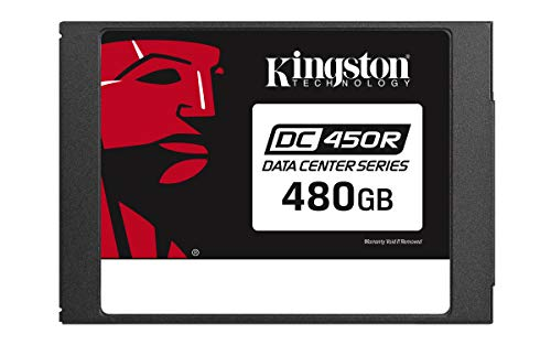 Kingston Data Center DC450R SEDC450R/480G SSD - Almacenamiento SATA de 6 GB/s para Cargas de Trabajo centradas en Lectura