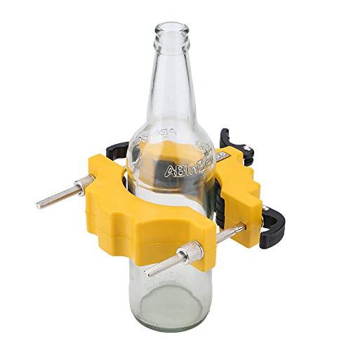 AYNEFY Cortador de cristal, aceite y cristal, para reciclaje, color amarillo