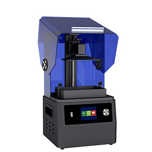 SMGPYDZYP Imprimante 3D, imprimante 3D de durcissement léger, Haute précision de Grande Taille Photosensitive Resinwith Resume Printing Function Photocopier