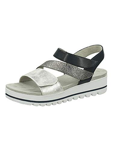 Jana Femmes Sandale 8-8-28264-26 890 Largeur H Taille: 41 EU