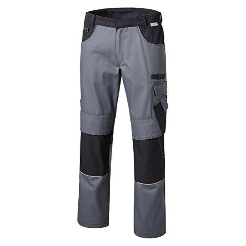 Pionier  workwear XXL Bundhose grau/schwarz, deutsche Größe:58