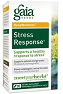 Gaia Herbs Stress Response LP caps **30 Count** ( Multi-Pack)