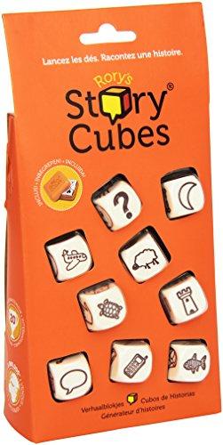 Asmodee Asmodée–Gioco di DadiStory Cubes [Lingua Italiana Non Garantita]