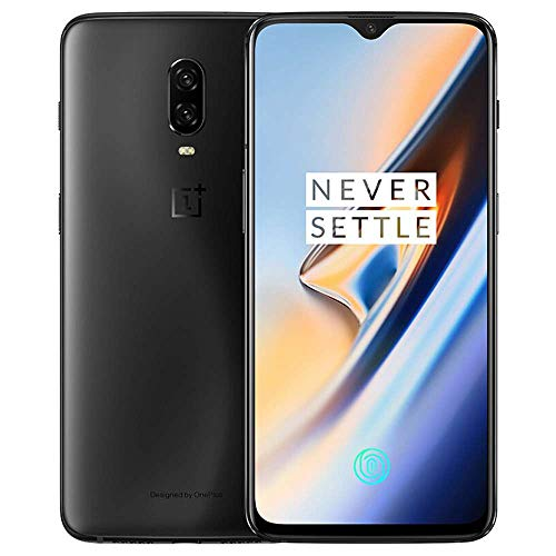OnePlus 6T A6010 Dual Sim, 6.41' 8GB RAM, GSM Unlocked Chinese Model with Google Play No Warranty (Midnight Black 128GB)