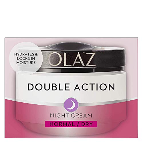 Olaz Essentials Double Action Aufbauende Nachtcreme, 50 ml