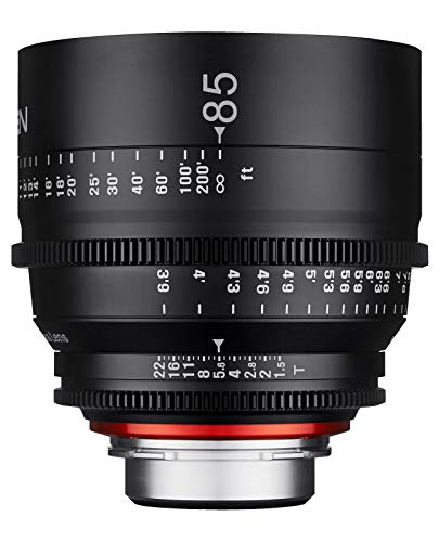 Xeen 15085T1.5C T1.5 Cine Objektiv EF Anschluss 85 mm schwarz