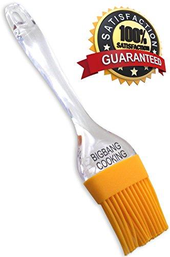 Yellow Silicone Pastry Brush - Basting Brush