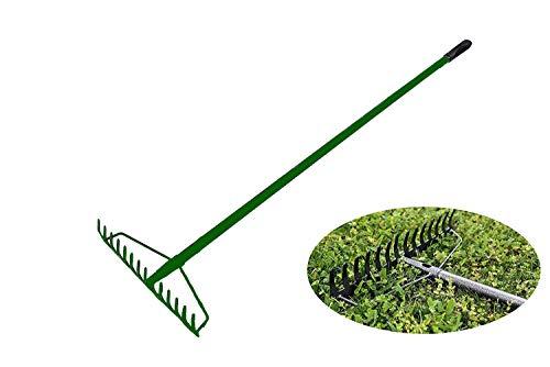 Old Tjikko Soil Rake,Garden Rake Heavy Duty,Green Rake...