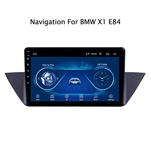 para BMW X1 E84 2009-2013 10.1 Pulgadas de navegador GPS del Coche Sistema de navegación por satélite Seguidor de Jugador de Radio de la Pantalla táctil del Espejo Enlace WiFi Bluetooth