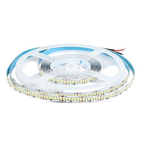 Tira LED SMD2835 17 W/m Bobina 5 m 238 LED/m 150 LM/W 24 V 3000 K IP20