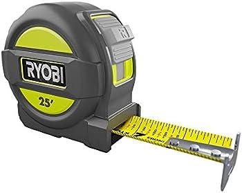 Ryobi 25 Feet Overmold Measure Tape