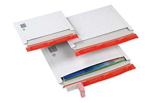 Versandtasche mit Querbefüllung, CP 017.02, Menge: 500 Stück, Farbe: weiß, Maxibrief, Karton