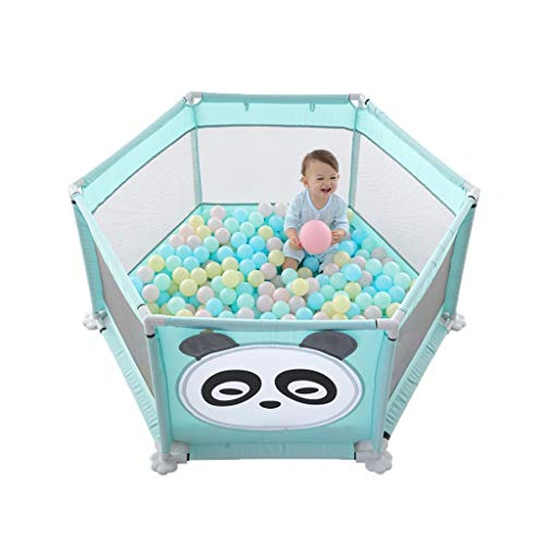 Affordable Baby Gyms Child Safety Fence Cartoon Indoor Play House Blue Children Crawling mat Toddler...