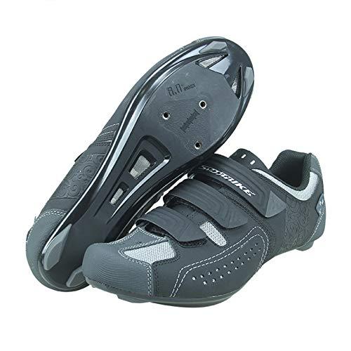 KOIJWWF Zapatillas de Ciclismo para Hombres, Mujeres, para Montar en Carretera, Zapatos...