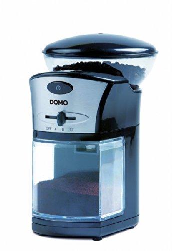 Domo DO-442KM Elektrische Kaffeemühle, Schwarz