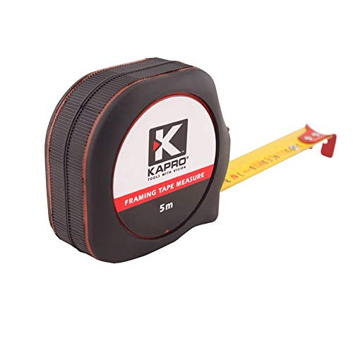 UANDM 608 stalen tape liniaal 5 meter meten hoge precisie doos liniaal mini liniaal meetinstrument