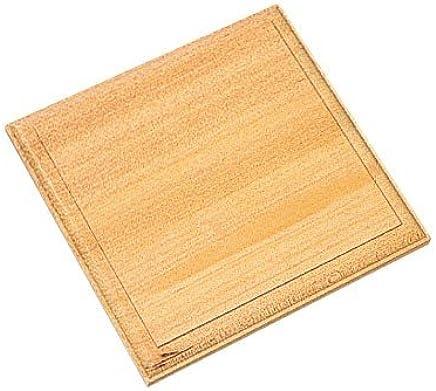 飾り木彫板 (プラーク) 正方形 15×150×150mm