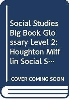 Houghton Mifflin Social Studies: Big Book Glossary Lvl 2