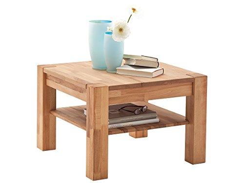 möbelando Couchtisch aus Massivholz Sofatisch Holztisch Wohnzimmertisch Tisch Holz Peter