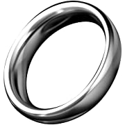 Beauty Molly Stainless Steel thick Penis male cock rings, 1.96 inch