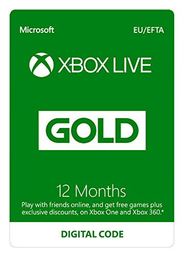 Xbox Live 12 Month Gold Membership | Xbox Live Download Code | Xbox Series X|S,...