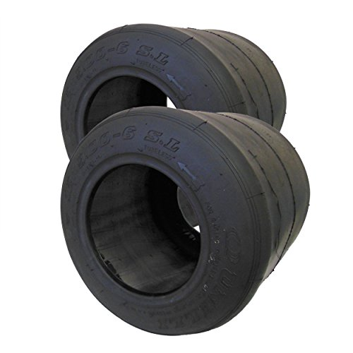 Set of 2, 6' Unilli Racing SL Slick Tire (12 x 9.00-6)