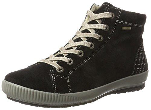 Legero TANARO, Damen Sneaker, Schwarz (Schwarz), 42 EU (8 UK)