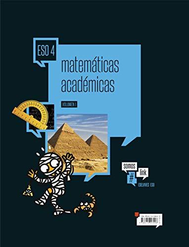 Matemáticas académicas 4.º ESO ( Tres Volumenes) (Somoslink) - 9788414003008