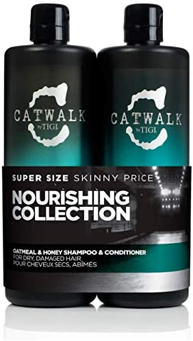 Catwalk by Tigi Oatmeal & Honey Nourish Shampoo and Conditioner 2 x 750 ml